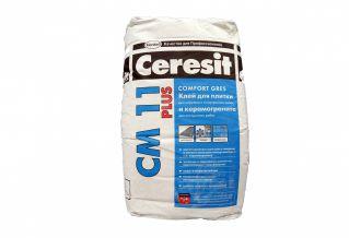 Клей для керамической плитки Ceresit CM 11 по выгодной цене!
