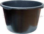 Таз строительный, 65л. пластмассовый(черный)