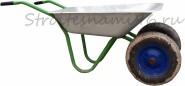 Двухколесная садовая тачка Belamos 4562P, 85л(80кг)