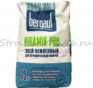 Бергауф Керамик Pro клей для плитки усиленный, 25кг.