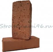 Кирпич одинарный керамический полнотелый (печной) М-150, (250мм*120мм*65мм), г. Ревда