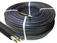 Кабель ВВГ-Пнг(А)-LS 3*1,5кв.мм медный 0,66кВ с ПВХ изоляцией негорючий с низким дымо-газовыделением