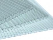 Поликарбонат сотовый прозрачный (4мм*2,1м*6м),480 гр/м2 Соталюкс Омский