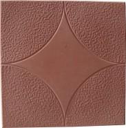 Тротуарная плитка Звезда (300*300*30мм), красная