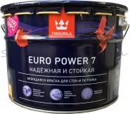 Краска латексная TIKKURILA Euro 7, 9л.