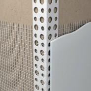 Уголок ПВХ с армирующей сеткой (10мм*15мм*2,5м)
