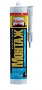Клей Момент Монтаж Экспресс Декор МВ-45(для панелей, плинтусов) 400гр, белый