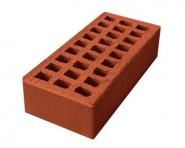 Кирпич керамический пустотелый одинарный лицевой М125/150 (250мм*120мм*65мм), (262 шт/под), цвет карамель г. Ревда