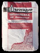 Бравый Бригадир шпаклевка полимерная финишная, 20кг