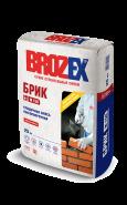 Брозекс Брик М-150 кладочная смесь, 25кг.