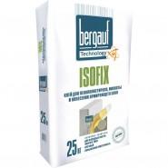 Бергауф Изофикс клей для пенополистирола и минваты (морозостойкий), 25кг