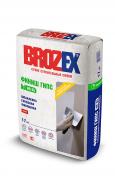 Брозекс WR-65 Финиш-гипс шпатлёвка гипсовая белая, 17кг