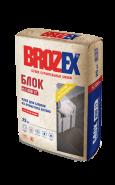 Брозекс КСБ-17 Блок клей для ячеистых блоков, 25кг.