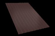 Профнастил С-8(1200мм*2000мм), ( 1 лист - 2,4 м.кв.), коричневый
