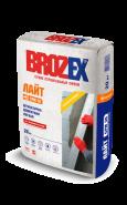 Брозекс СРМ-36 Лайт легкая штукатурка цементная для наружных и внутренних работ, 20кг