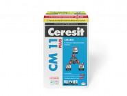 Церезит (Ceresit) СМ-11 клей для плитки и керамогранита, 25кг.