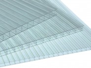 Поликарбонат EuroTek сотовый прозрачный (3,5мм*2,1м*6м),520 гр/м2