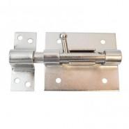 Задвижка дверная ЧИБИС ЗДК - 80 круг риг CP (хром)