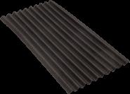 Ондулин SMART (10 волн) черный (1950х960мм) - 1,87м2