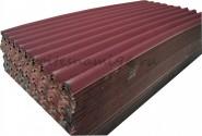Ондулин SMART (10 волн) красный (1950х960мм) - 1,87м2