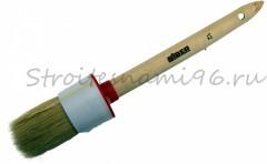 Кисть КР12/45мм светлая дерев. ручка