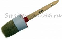 Кисть круглая 18/60мм светлая деревянная ручка