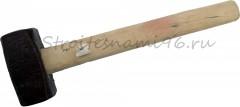 Кувалда 2 кг с деревянной ручкой
