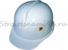 Каска строительная защитная (белая)