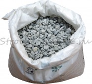 Щебень фракция 5*20мм. (1м3=45 мешков), 25 кг.