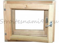Окно банное (500мм*600мм*150мм), сосна