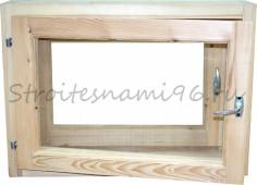 Окно банное (500мм*700мм*150мм), сосна