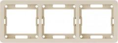 Рамка универсальная POWERMAN 3м Classic 2303H, кремовая 1189727