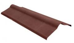 Коньковый элемент для Ондулина (1000мм*360мм), коричневый