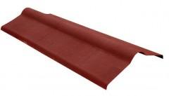 Коньковый элемент для Ондулина (1000мм*360мм), красный