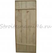 Дверь банная осиновая(1600*760*70мм) с коробкой