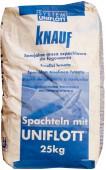 Шпаклевка гипсовая Кнауф Унифлот (Knauf Uniflott), 25кг