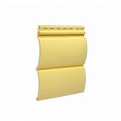 Сайдинг Дёке виниловый БлокХаус (0,240*3,66м), банан