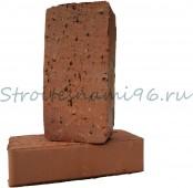 Кирпич одинарный керамический полнотелый (печной) М-150, (250мм*120мм*65мм), (392 шт/под), г. Ревда