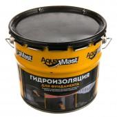 Мастика битумная AguaMast гидроизоляция для фундамента, 3кг.