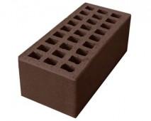 Кирпич лицевой утолщённый М125/150 керамический пустотелый (250мм*120мм*88мм), (190 шт/под), цвет шоколад г. Ревда