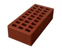 Кирпич керамический пустотелый одинарный лицевой М125/150 (250мм*120мм*65мм), (262 шт/под), цвет красный г. Ревда