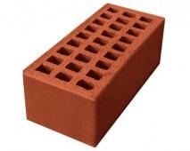 Кирпич лицевой утолщённый М150/200 керамический пустотелый (250мм*120мм*88мм), (190 шт/под), цвет карамель г. Ревда