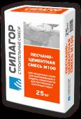 Силагор песчано-цементная смесь М100, 25кг