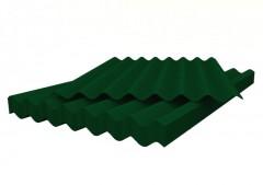 шифер 8 волн (5,6мм 1130мм*1750мм), зелёный