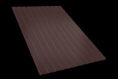 Профнастил С-8(1200мм*2000мм*035мм), ( 1 лист - 2,4 м.кв.), шоколад