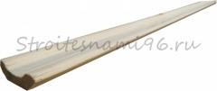 Плинтус цельный (30*1900мм), сосна