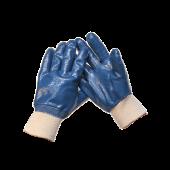 Перчатки, с полным нитриловым покрытием(манжет резинка)