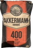 Цемент Akkermann ПЦ400 ЦЕМ III/А-И 32.5Н, 50 кг