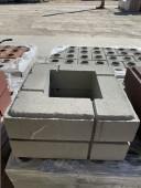 Тумба Лего (400*400*95мм), серый