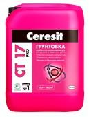 Церезит (Ceresit) грунтовка СТ-17 Pro, глубокого проникновения, 10 л